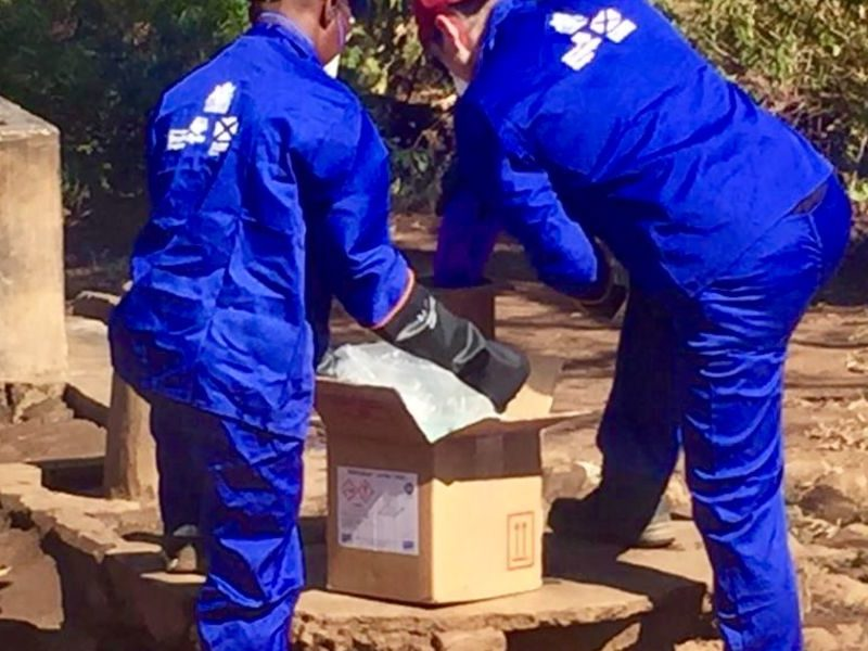 BoreSaver Ultra C Removes Iron Bio-Fouling and Improves Lives in Rural Malawi